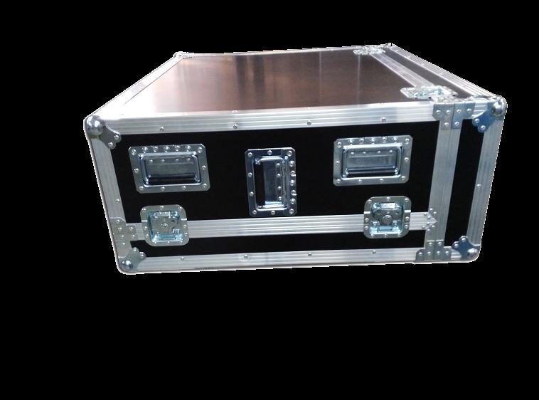 Caja para mesa de mezclas con 2 tapas y cajet n posterior for Media markt mesa de mezclas